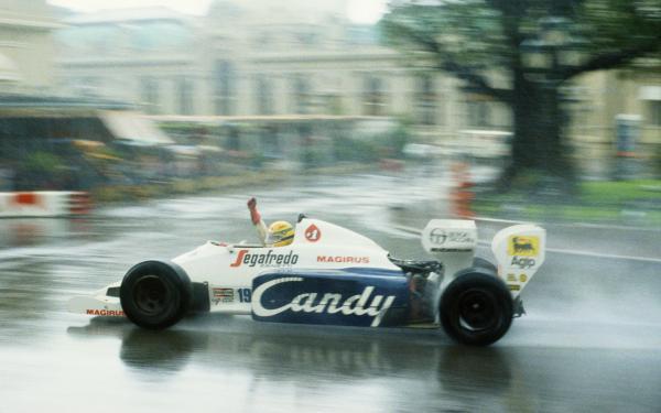 Ayrton Senna Tolemon 1984