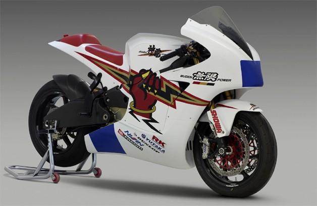 Shinden - motocicleta eléctrica de alta competencia