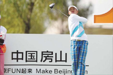 Guan Tian-lang al European Tour