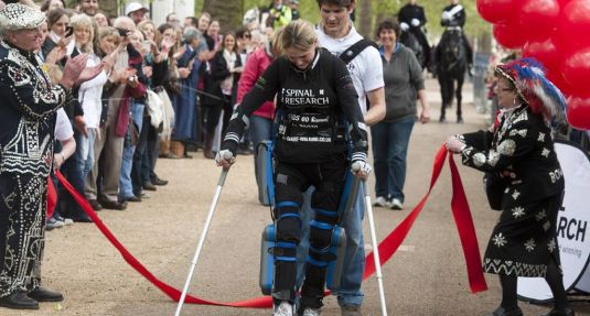 Claire Lomas la atleta biónica
