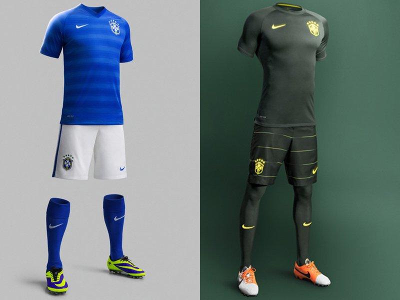 3e27d0136622a Los uniformes de las 32 selecciones del Mundial Brasil 2014